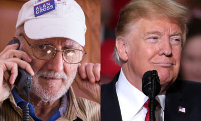 Alan Gross y Donald Trump
