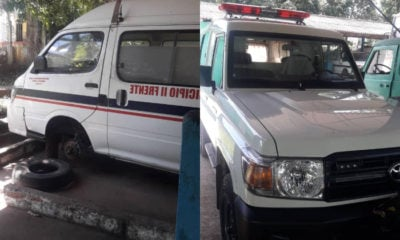 Ambulancias del Segundo Fuente