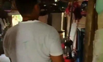 Cubano en Holguín se cose la boca para exigir reparaciones en su vivienda