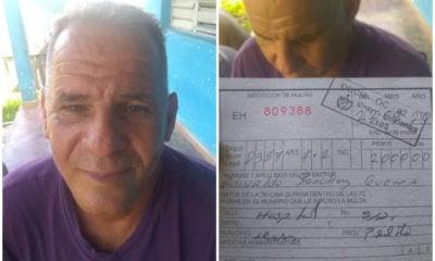 Cubano multado por vender la carne de un cerdo que él crió