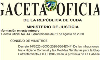 Decreto Oficial Estas son las sanciones por violar las restricciones en La Habana