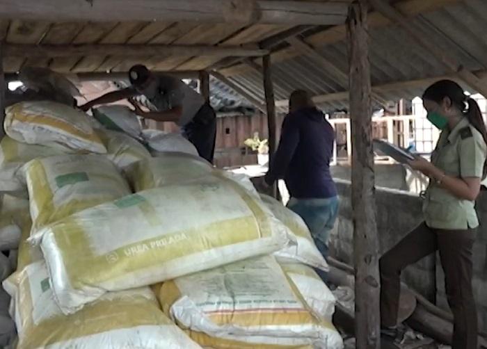 PNR confisca grandes cantidades de fertilizante a campesino en Ciego de Ávila