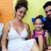 Luis Silva, Pánfilo, celebra el cumpleaños de su esposa