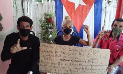 MONR realiza una cadena de oración por la salud y liberación de presos políticos en Cuba