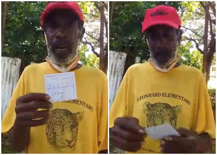 Opositor cubano recibe multa de 2 mil pesos por bajarse el nasobuco en el portal de su casa