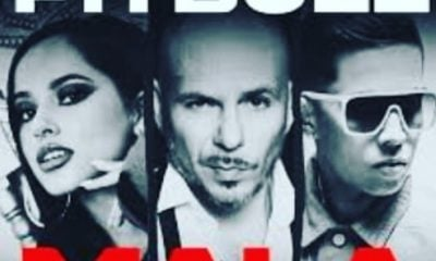 "Pitbull, Becky G y De La Ghetto estrenan nuevo video musical ""Mala"""