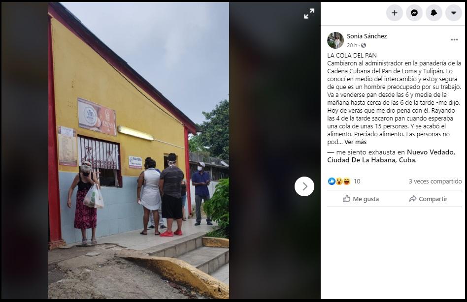 Desvío a centros de aislamiento deja sin pan a vecinos de La Habana