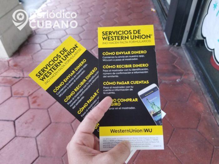 Western Union entregará las remesas en dólares si el Gobierno cubano lo permite