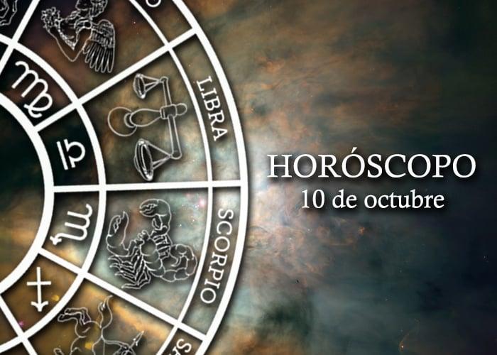 Horóscopo del 10 de ocubre