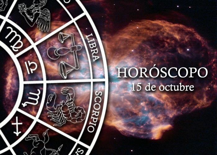 Horóscopo del 15 de ocubre