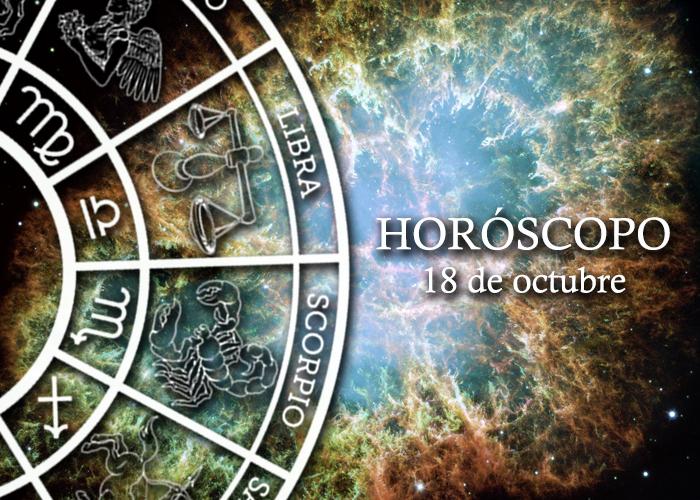 Horóscopo del 18 de octubre