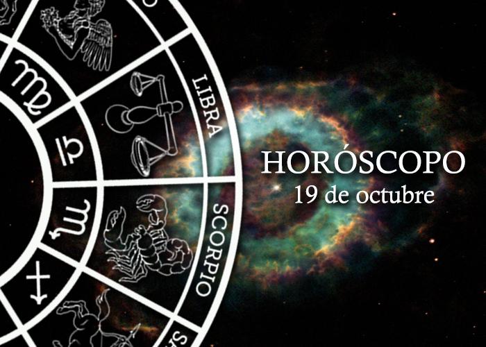 Horóscopo del 19 de octubre