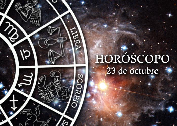 Horóscopo del 23 de octubre