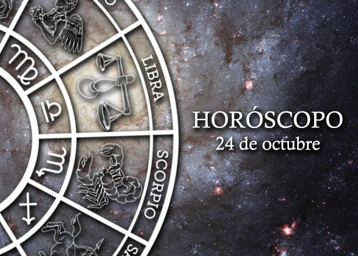Horóscopo del 24 de octubre