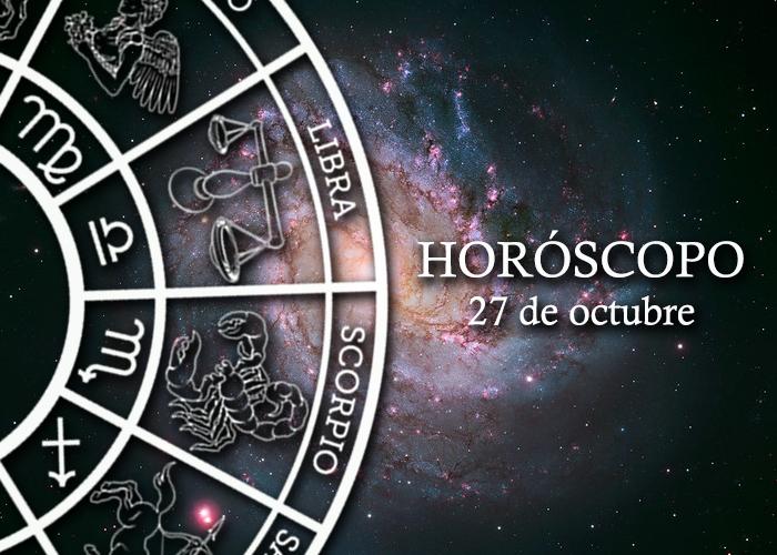 Horóscopo del 27 de octubre
