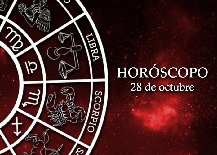 Horóscopo del 28 de octubre