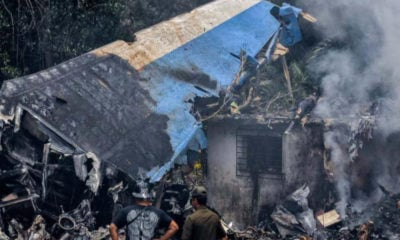 Accidente de Cubana de Aviación en 2018