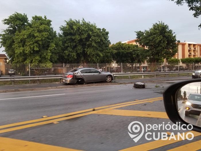 Accidente de tránsito en Hialeah