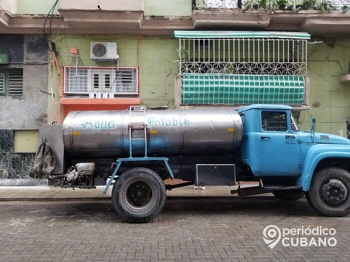 Al menos 18 repartos de La Habana no tendrán agua potable el próximo martes