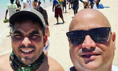 Andy Vázquez envía felicitación a Luis Silva por su 42 años