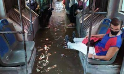 Constantes lluvias sobre La Habana provocan inundaciones