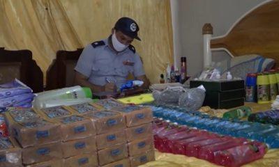 PNR decomisa mercancía a presuntos revendedores en el Cotorro