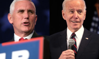 Mike Pence y Joe Biden