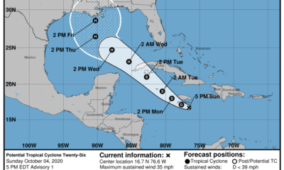 Potencial tormenta tropical Delta afectará al occidente cubano