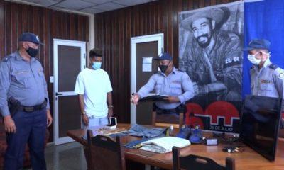 Arrestan a dos personas por robo con fuerza a viviendas de Alamar