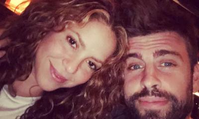 Shakira y el futbolista Gerard Piqué
