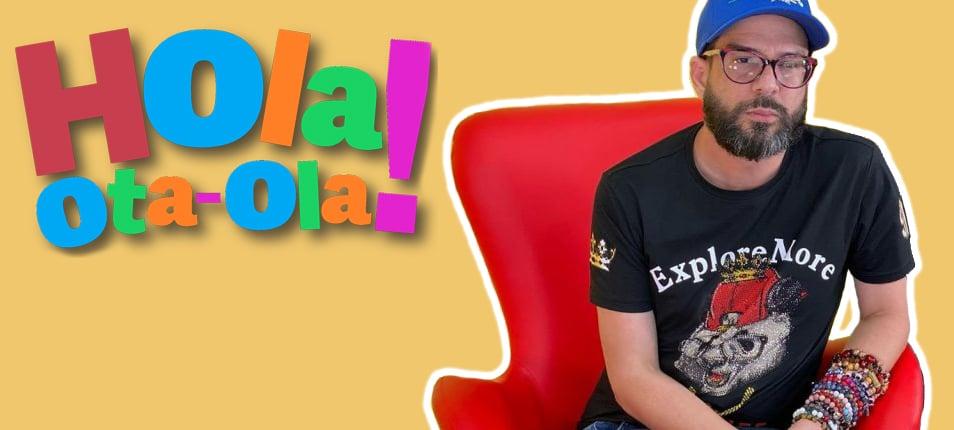 Alex Otaola Casal presentador del Show Hola OtaOla
