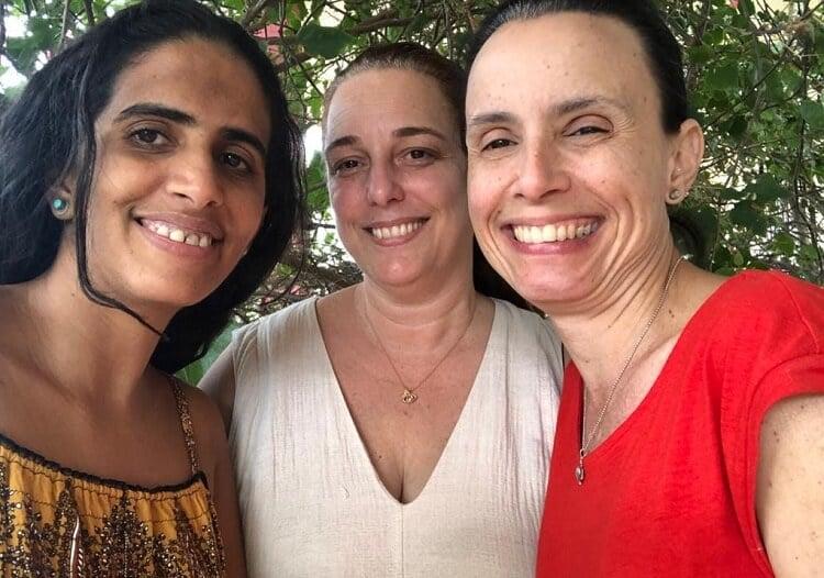 Omara Ruiz Urquiola se reconcilia con Tania Bruguera y manifestantes del  Mincult