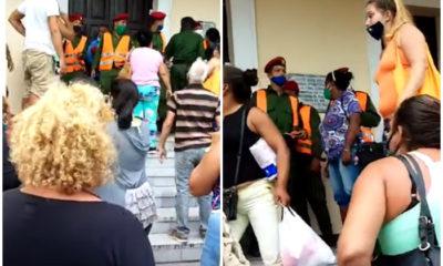 Cubanos se enfrentan a militares en Isla de la Juventud por arresto injustificado
