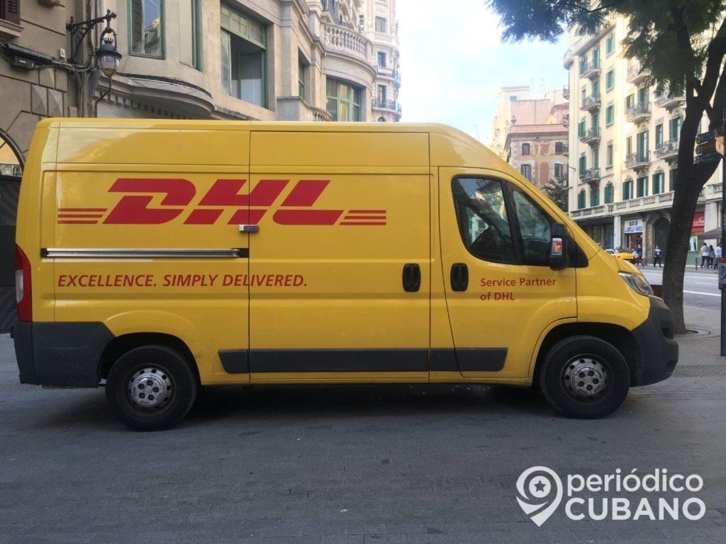 DHL volverá a operar el envío de paquetería a Cuba