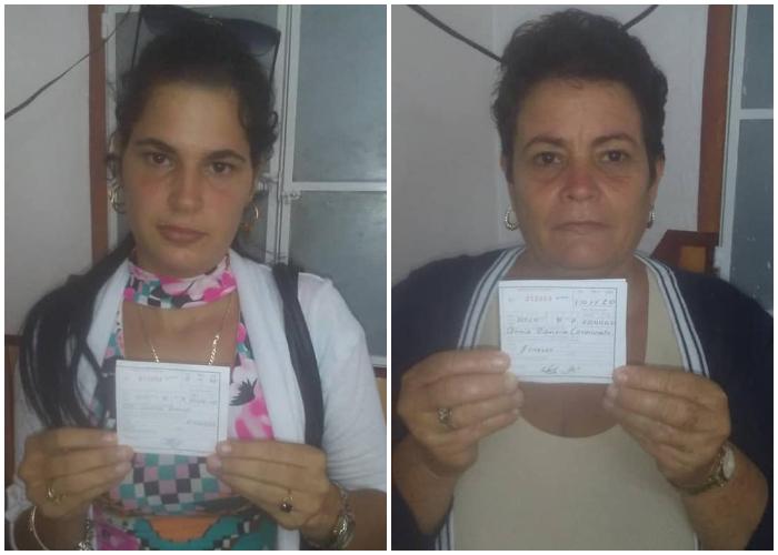 Multan a Damas de Blanco por grabar una protesta ciudadana en Matanzas
