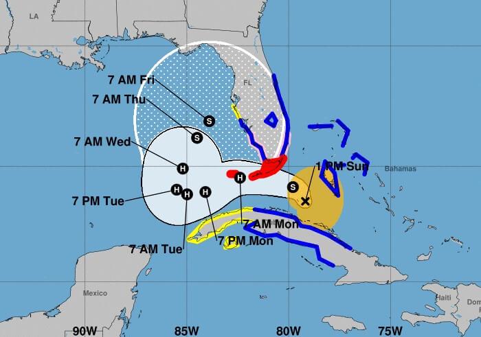 Emiten estado de emergencia para 8 condados del sur de Florida por la tormenta Eta