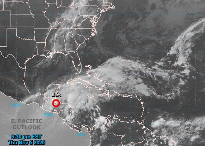 Eta se degrada a depresión tropical pero aún podría afectar a Cuba el fin de semana
