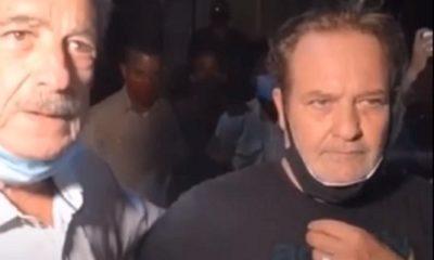 Jorge Perugorría y Fernando Pérez asisten a la protesta frente al Ministerio de Cultura de Cuba