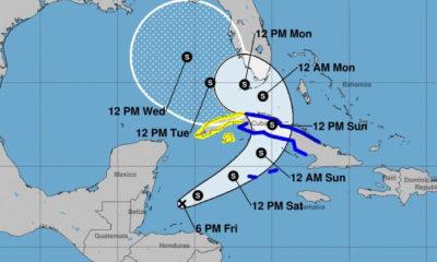 Sur de Florida se alista para las lluvias que ocasionaría la tormenta tropical Eta