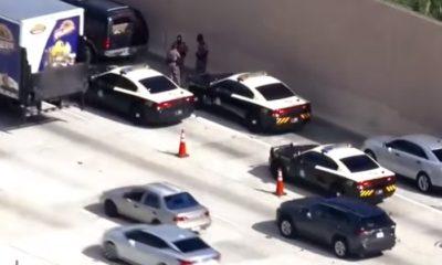 Adolescente de 19 años es herido de bala durante tiroteo en la I-95 de Miami