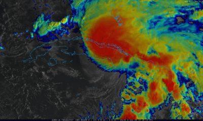 Tormenta tropical Eta próxima a salir al mar por el norte de Ciego de Ávila