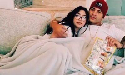 Yomil y Daniela Reyes como dos tortolitos en las redes sociales