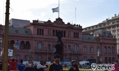 argentina de luto por la muerte de Diego armando maradona genio del futbol (29)