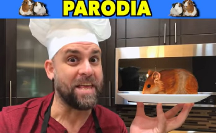 """A comer curiel"", la nueva parodia de Javier Berridy"