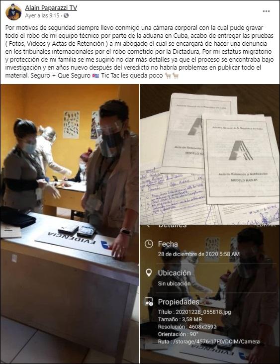 """Paparazzi Cubano: """"Voy a luchar para que mi. pueblo pueda disfrutar como Dios manda"""""""