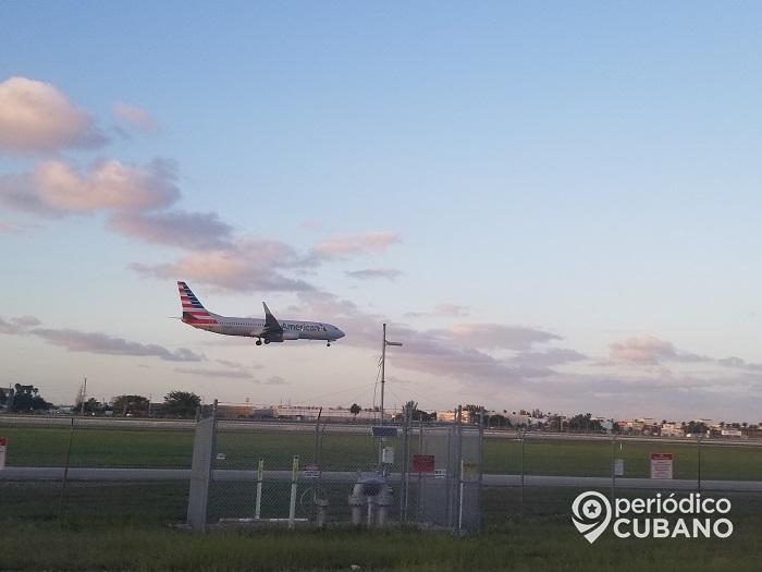 American Airlines suspende sus vuelos a Cuba en la primera semana de enero