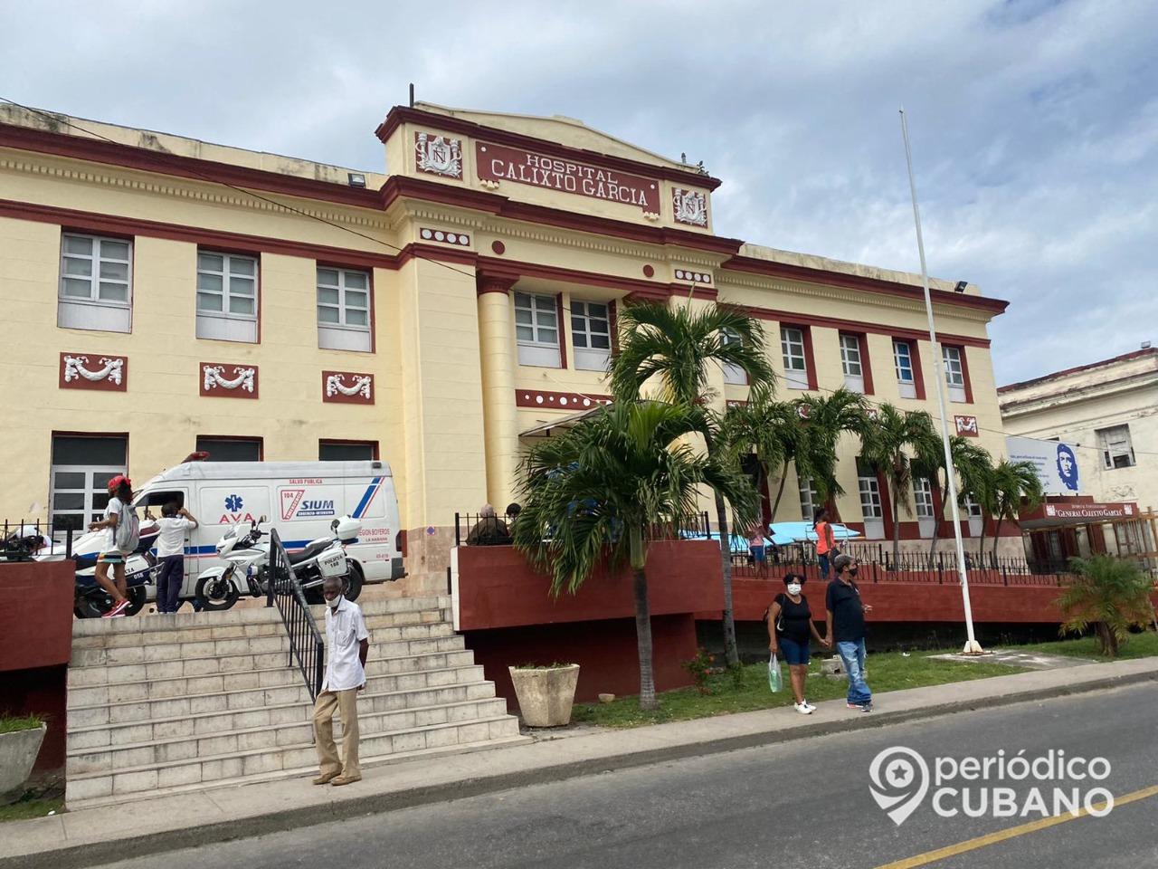 Cubana a punto de morir por un mal diagnóstico en el Calixto García y falta de ambulancias