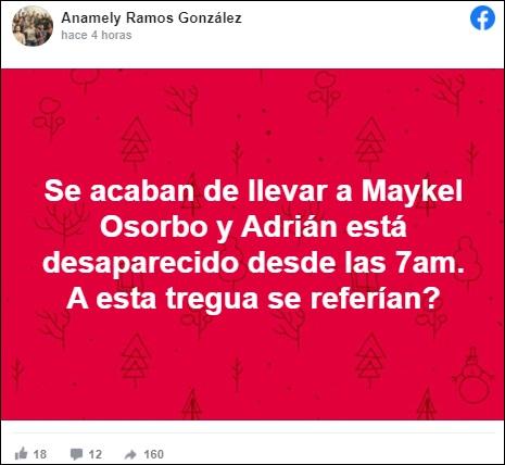 Arrestan a Maykel Osorbo cuando se dirigía a la iglesia por el Día de San Lázaro