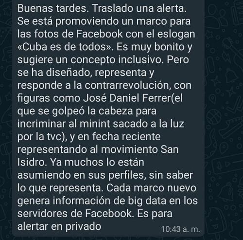 """Estudiantes universitarios cubanos reciben la amenaza de ser """"analizados"""" si apoyan al Movimiento San Isidro en redes sociales"""