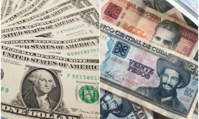 La tasa de cambio del peso cubano contra el dólar será de 24 por 1